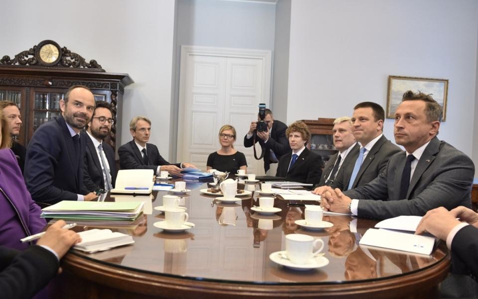 Entretien avec Jüri Ratas, Premier ministre de la République d'estonie