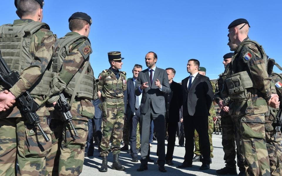Echanges informels avec les soldats