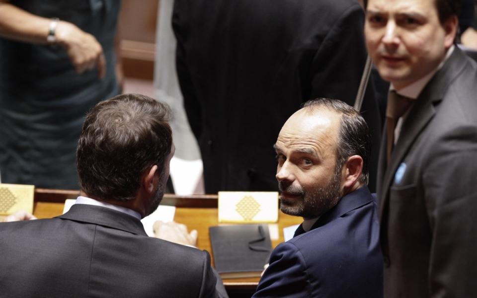 Édouard Philippe, le 4 juillet 2017