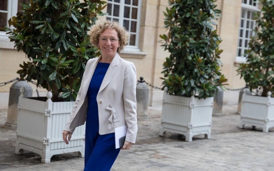 24/07 - Arrivée de Muriel Pénicaud, ministre du Travail