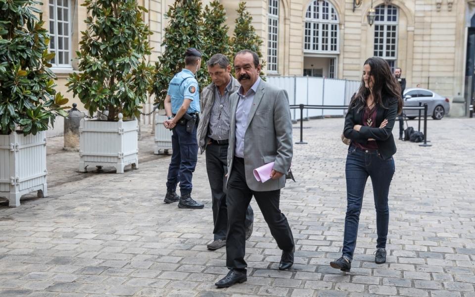 24/07 - Arrivée de Philippe Martinez, Secrétaire général de la CGT