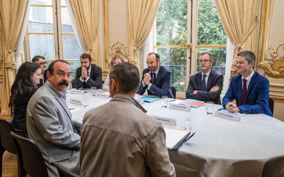 24/07 - Entretien avec le Secrétaire général de la CGT