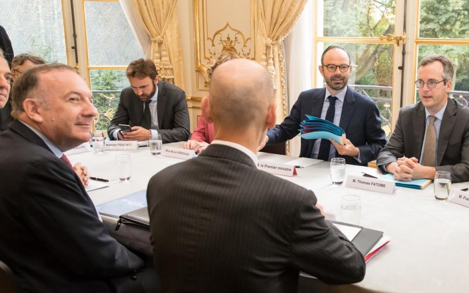 25/07 - Entretien entre le Premier ministre et le Président du MEDEF