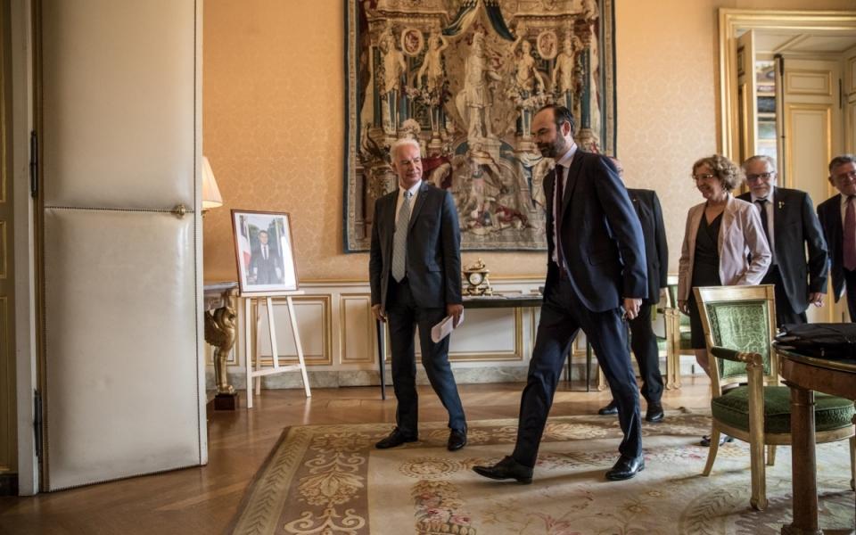 27/07 - Édouard Philippe et Alain Griset, Président de l'U2P
