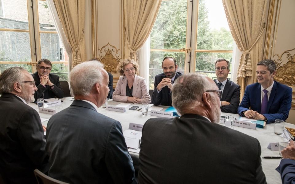 27/07 - Le Premier ministre s'entretient avec le Président de l'U2P