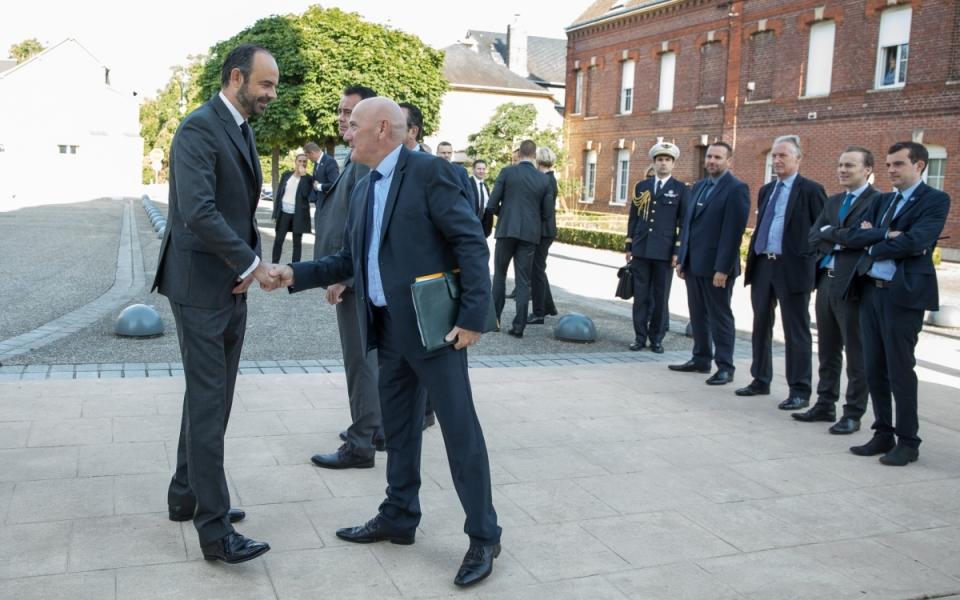 Le Premier ministre s'est rendu à Saint-Étienne-du-Rouvray