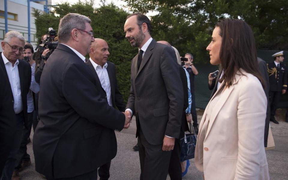 Édouard Philippe a rencontré les autorités locales