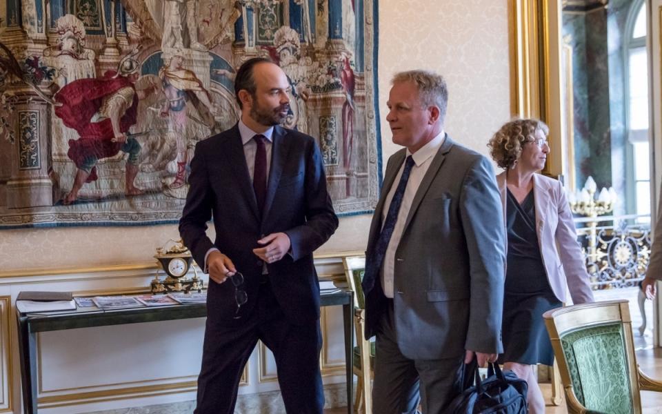 27/07 - Édouard Philippe reçoit le Président de la CFE-CGC pour un entretien