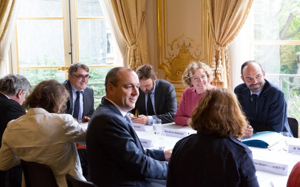 25/07 - Entretien entre le Premier ministre et Laurent Berger, Secrétaire général de la CFDT