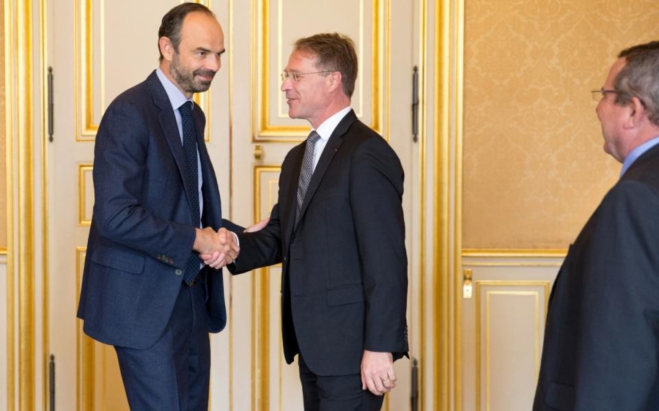 25/07 - Le Premier ministre accueille François Asselin, Président de la CPME