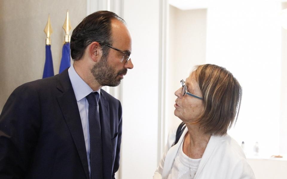 Edouard Philippe et Françoise Nyssen, lors du séminaire gouvernemental du 1er juillet