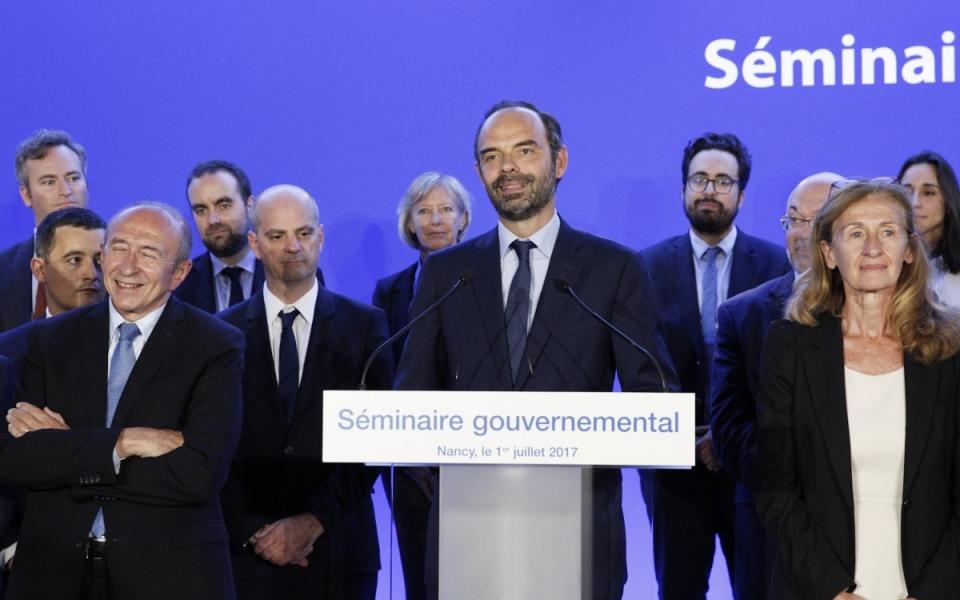 Séminaire gouvernemental, le 1er juillet