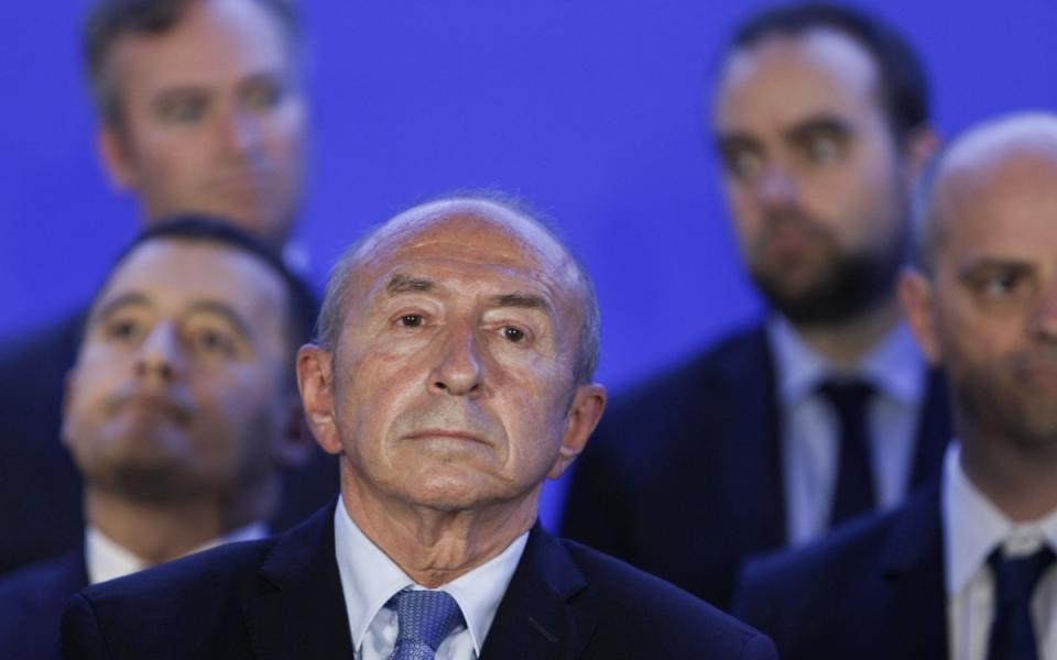 Gérard Collomb lors du séminiaire gouvernemental, le 1er juillet