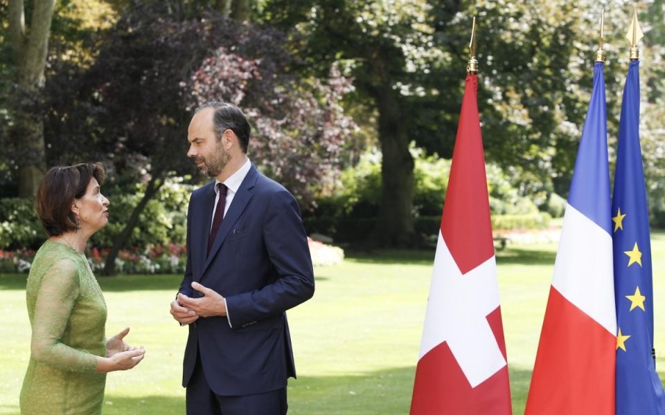 Entretien entre le Premier ministre et la Présidente de la Confédération Suisse
