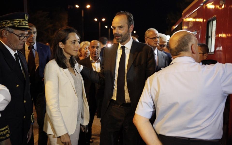 Le Premier ministre et la secrétaire d'État auprès du ministre d'État, ministre de la transition écologique et solidaire