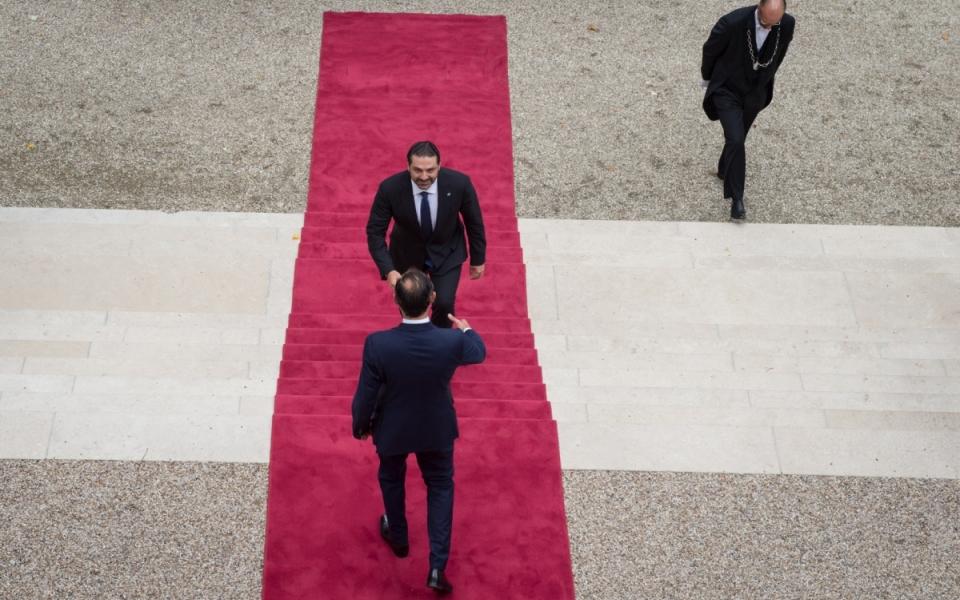 Le Premier ministre accueille le Président du Conseil des ministres de la République libanaise