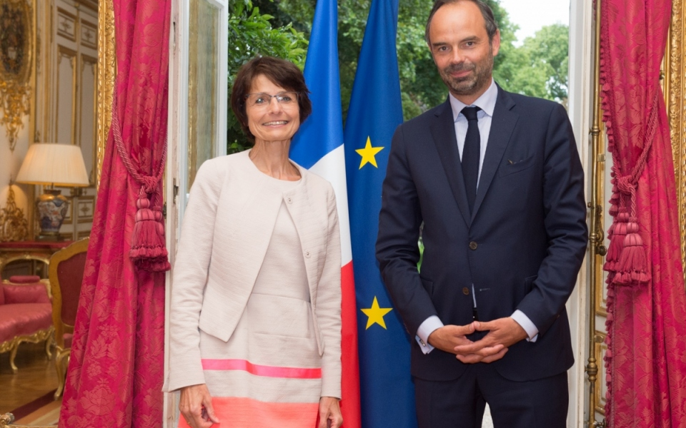 Entretien du Premier ministre avec Marianne Thyssen