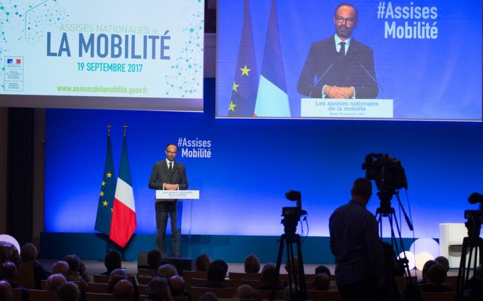 Le Premier ministre aux Assises de la mobilité, au Palais Brogniart