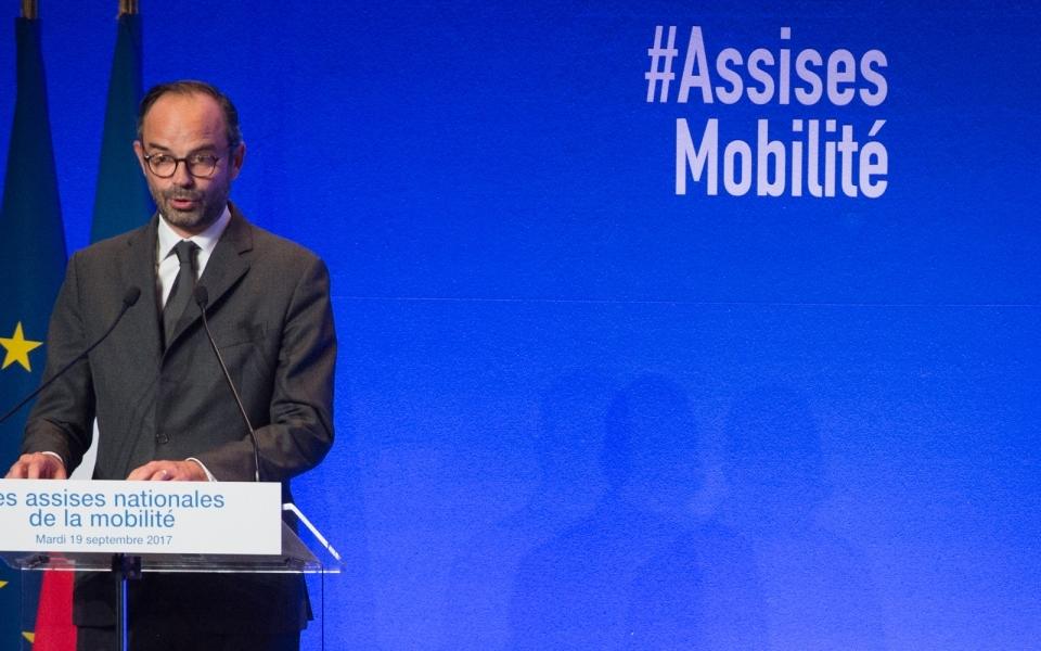 Le Premier ministre lors de son discours aux Assises de la mobilité