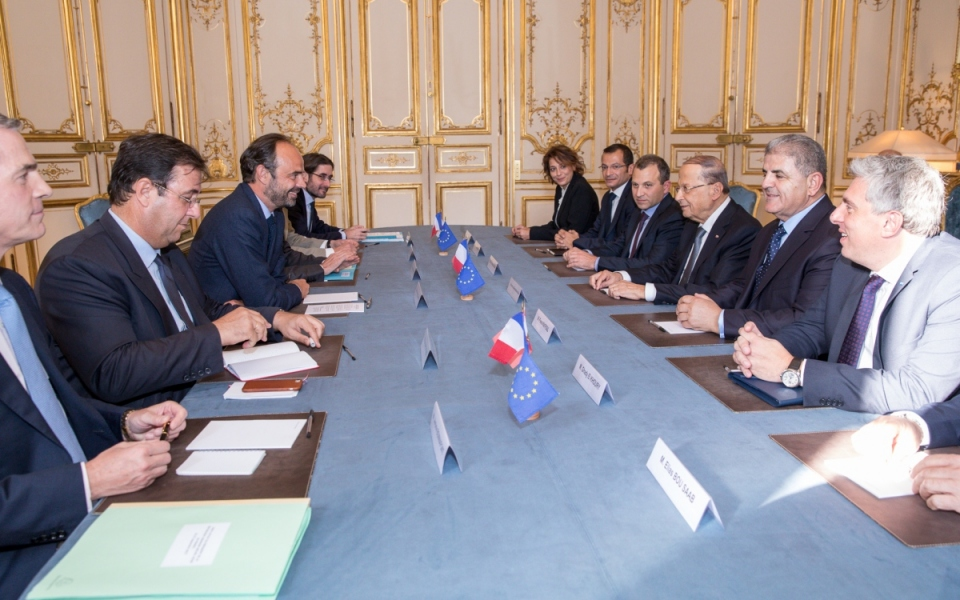Meeting with the Lebanese delegation