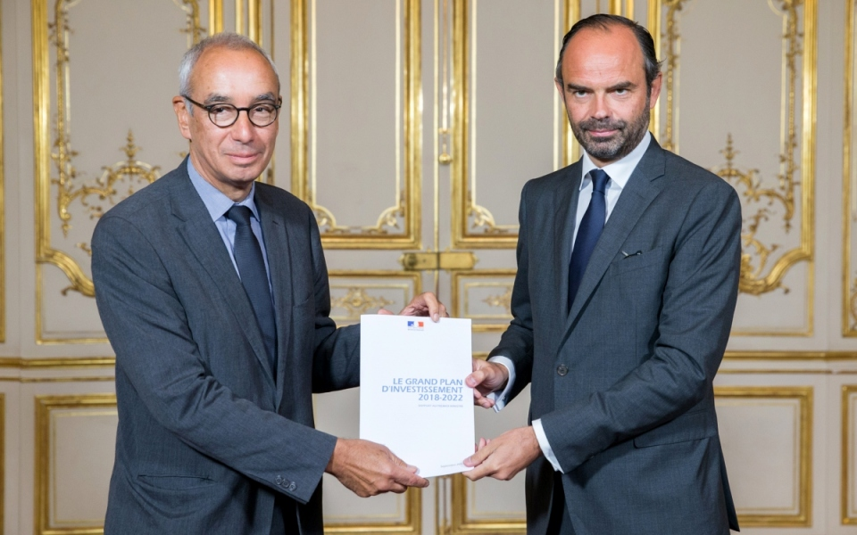 Édouard Philippe et Jean Pisani-Ferry