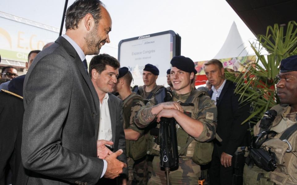 Rencontre avec les militaires de l'opération sentinelle