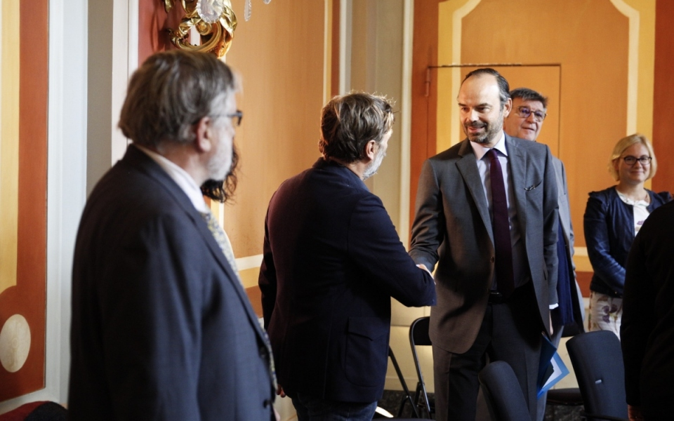 Le Premier ministre accueille les acteurs associatifs de lutte contre la pauvreté et l'exclusion