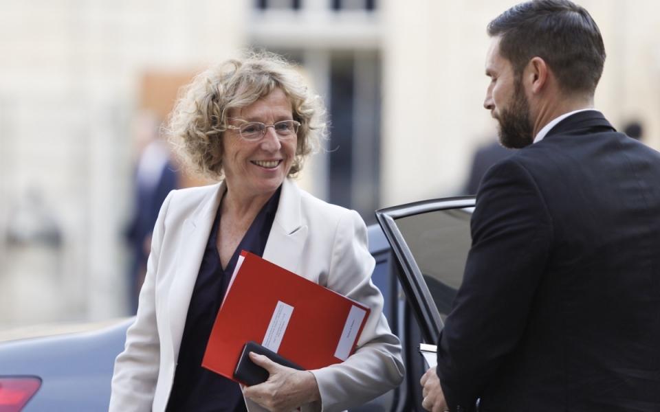 La ministre du Travail, Muriel Pénicaud arrive à l'Hôtel de Matignon