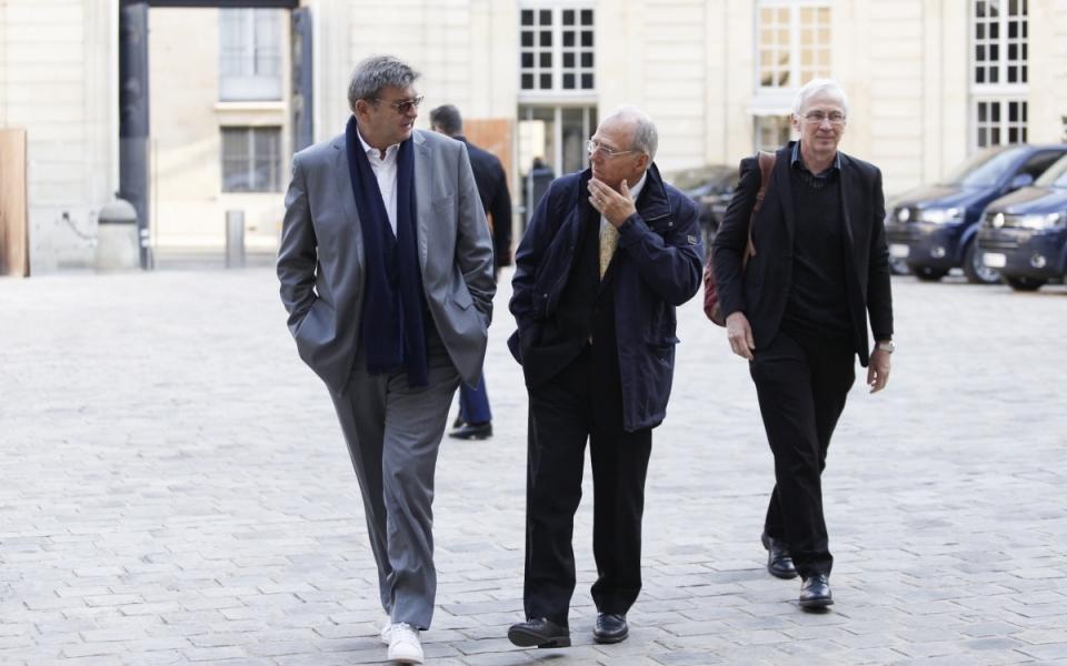 Arrivée de François Soulage, président du collectif Alerte
