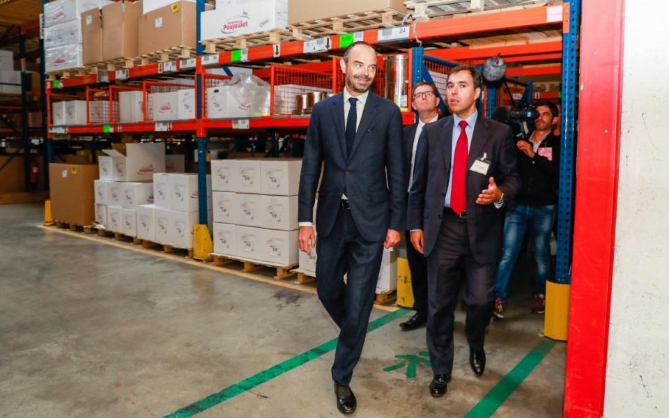 Visite de l'entreprise Poujoulat