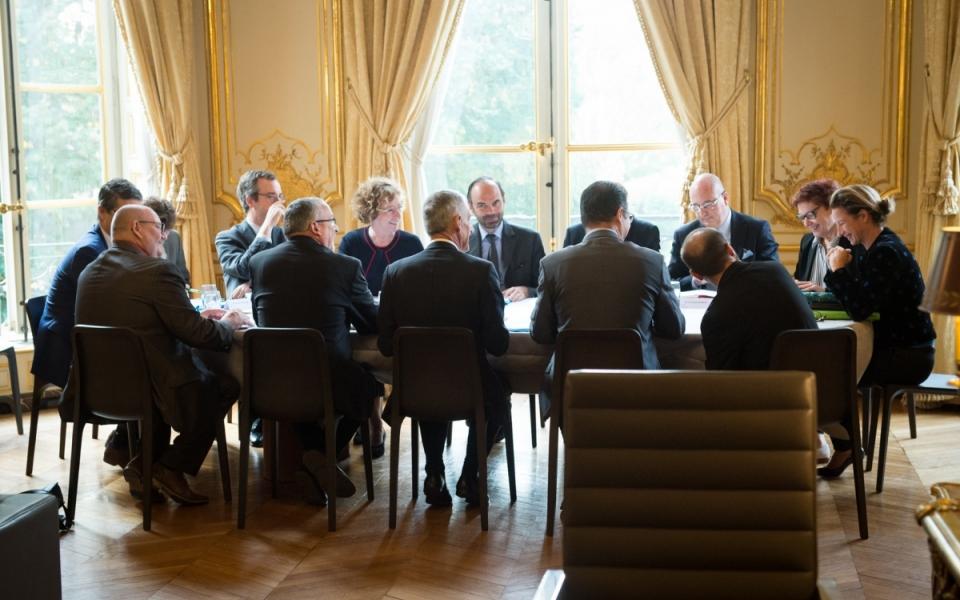 17/10 - Entretien avec le président de la CFTC
