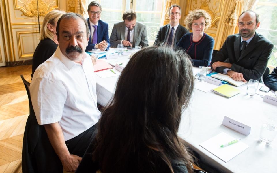 17/10 - Entretien avec Philippe Martinez, secrétaire général de la CGT
