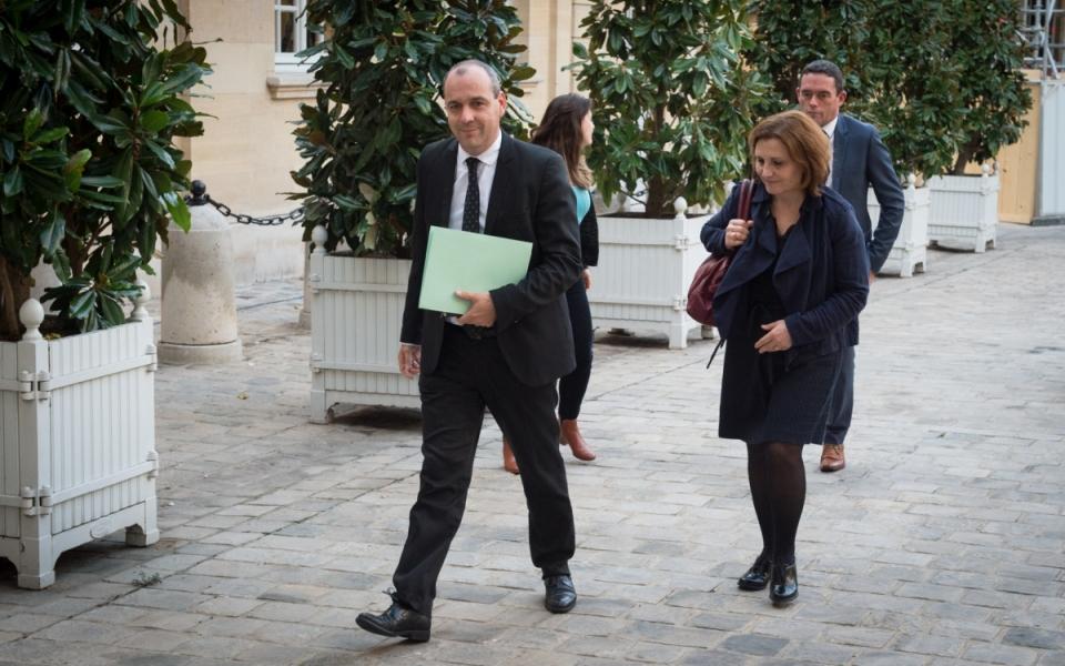 17/10 - Arrivée de Laurent Berger, secrétaire général de la CFDT