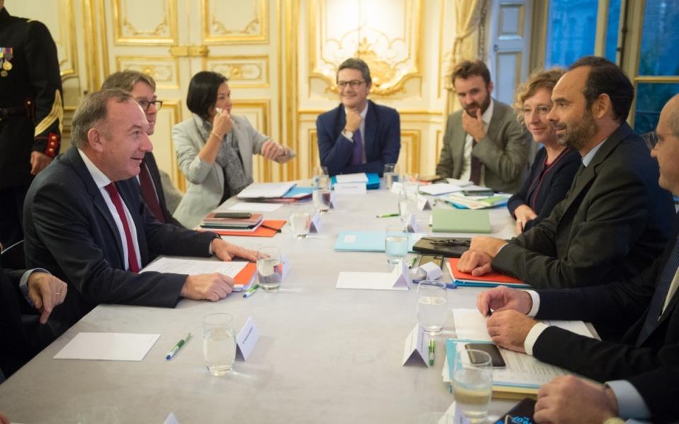 17/10 - Entretien avec Pierre Gattaz, président du MEDEF