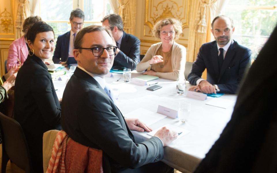 19/10 -  Jack Aubert, président de la FESAC est reçu par le Premier ministre