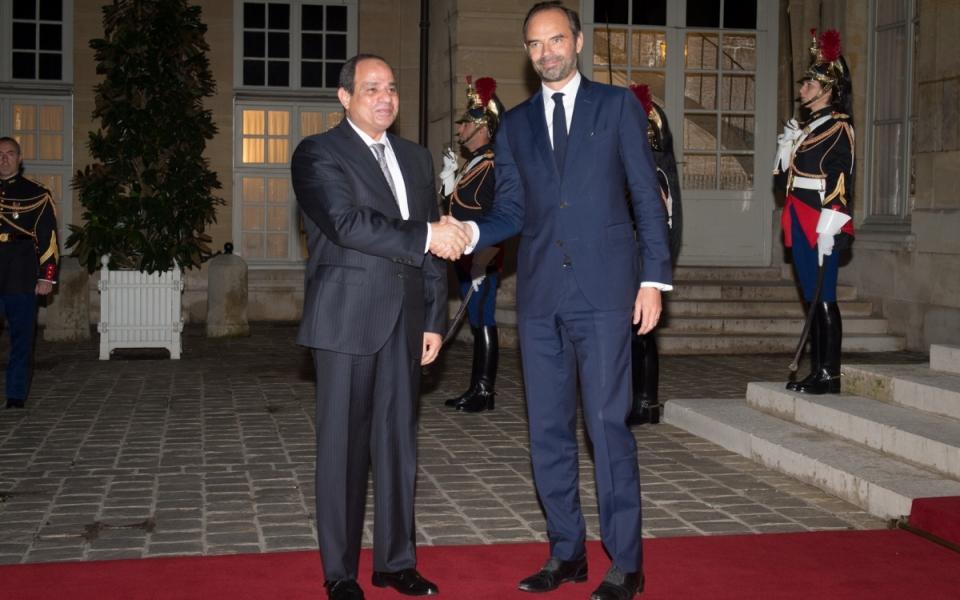 Le Premier ministre a accueilli le Président de la République arabe d'Égypte lors de son arrivée