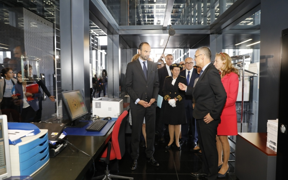 Visite du Palais de justice de Nantes aux côtés de la Garde des Sceaux