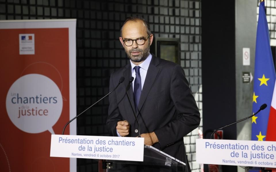 Discours du Premier ministre - présentation des chantiers de la justice