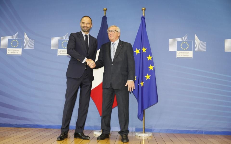 Le Premier ministre et le Président de la Commission européenne