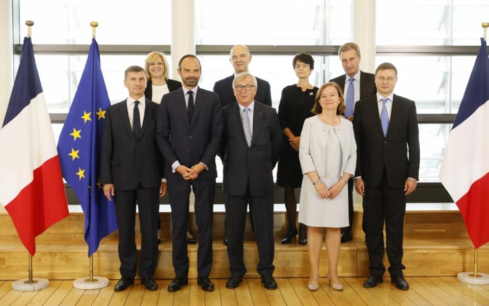 Rencontre avec plusieurs membres de la Commission européenne