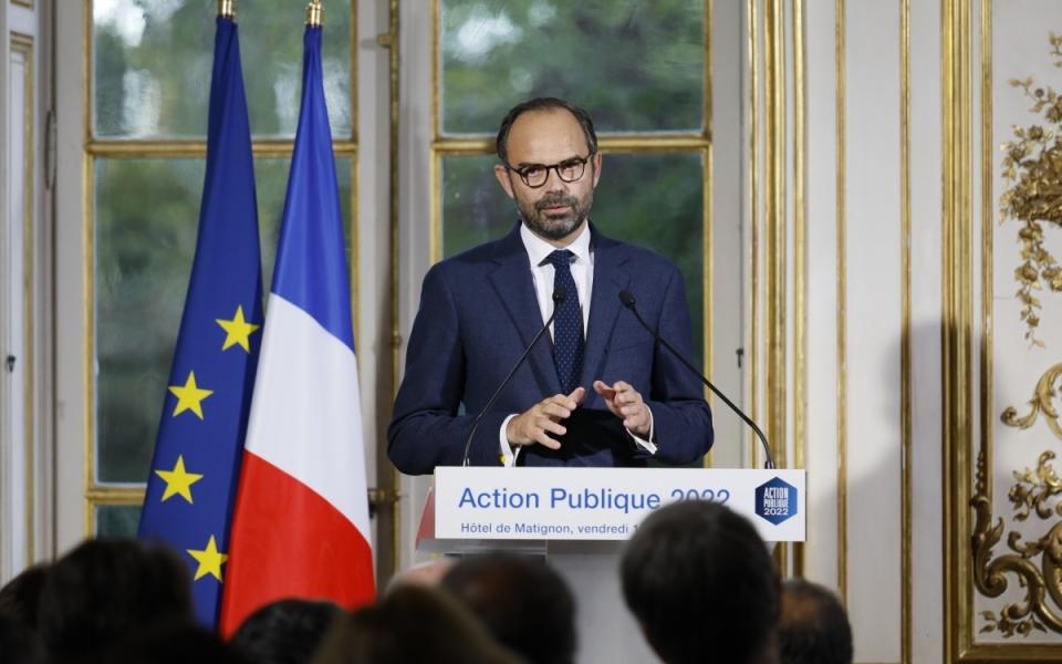 """Discours de présentation du programme """"Action publique 2022"""""""