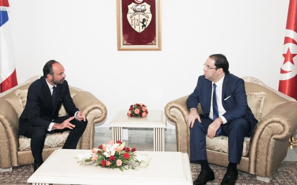 Rencontre entre le Premier ministre et son homologue tunisien, Youssef Chahed