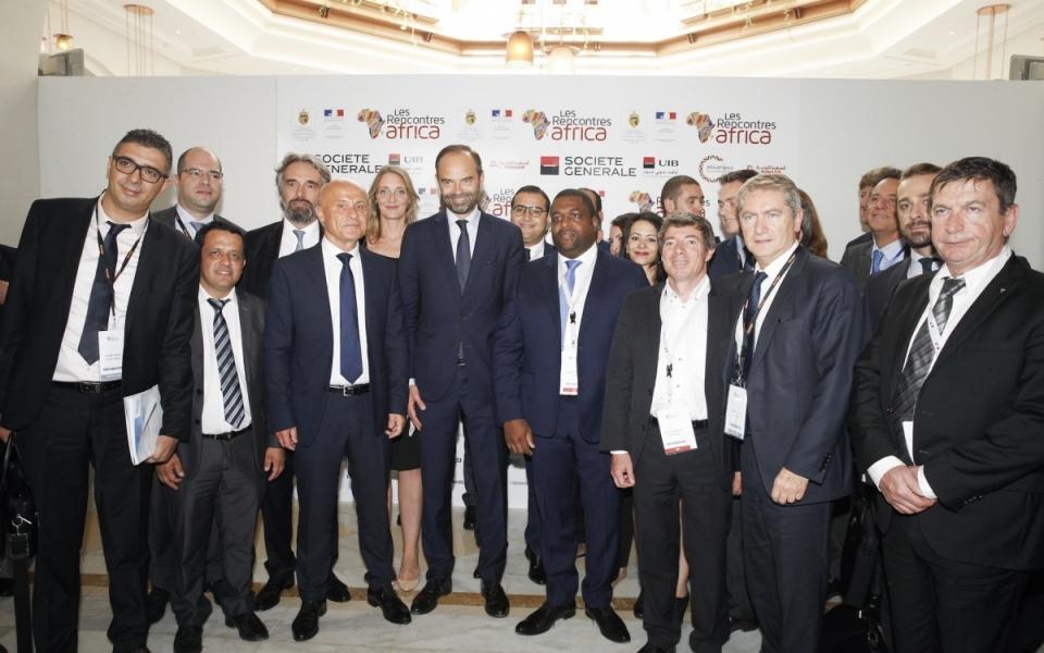Le Premier ministre et la délégation Business France Tunis