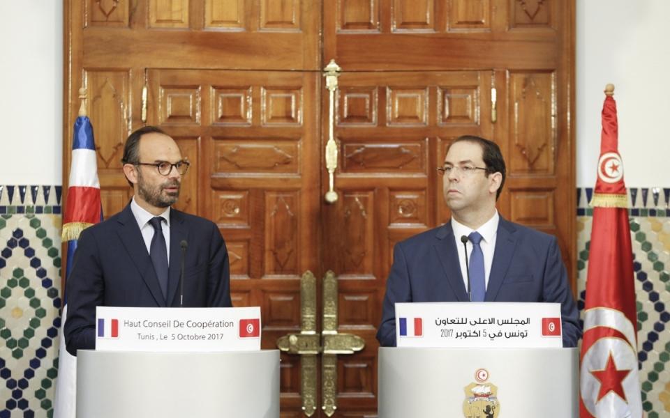 Conférence de presse du Premier ministre et du chef du gouvernement de la République tunisienne
