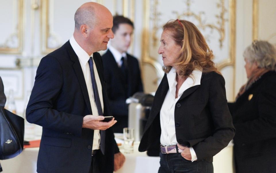 Jean-Michel Blanquer et Nicole Belloubet