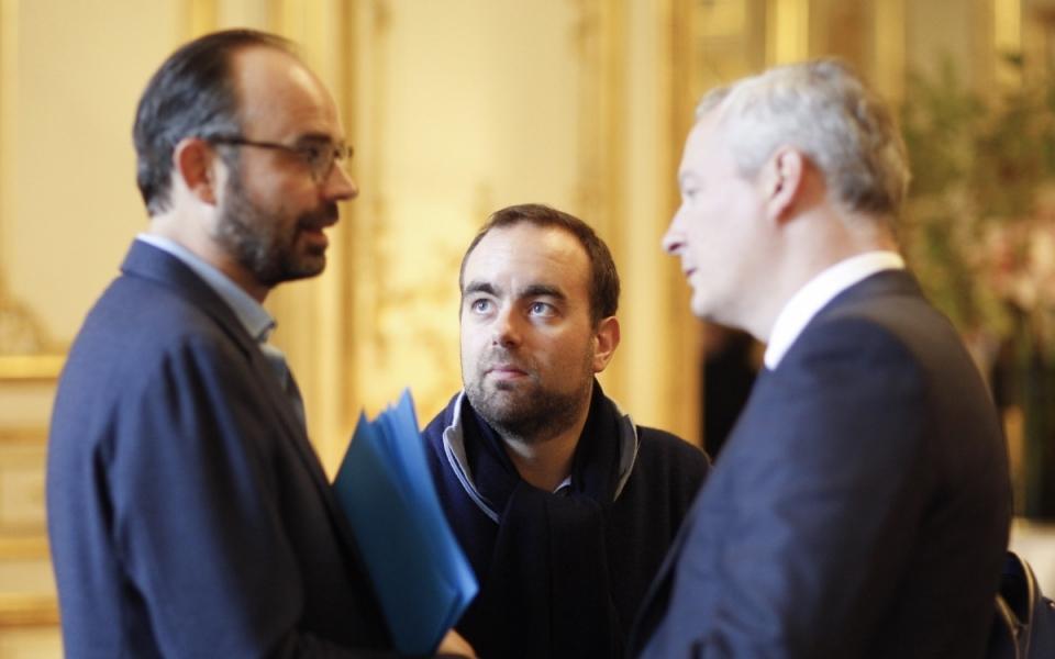 Edouard Philippe, Sébastien Lecornu et Bruno Le Maire
