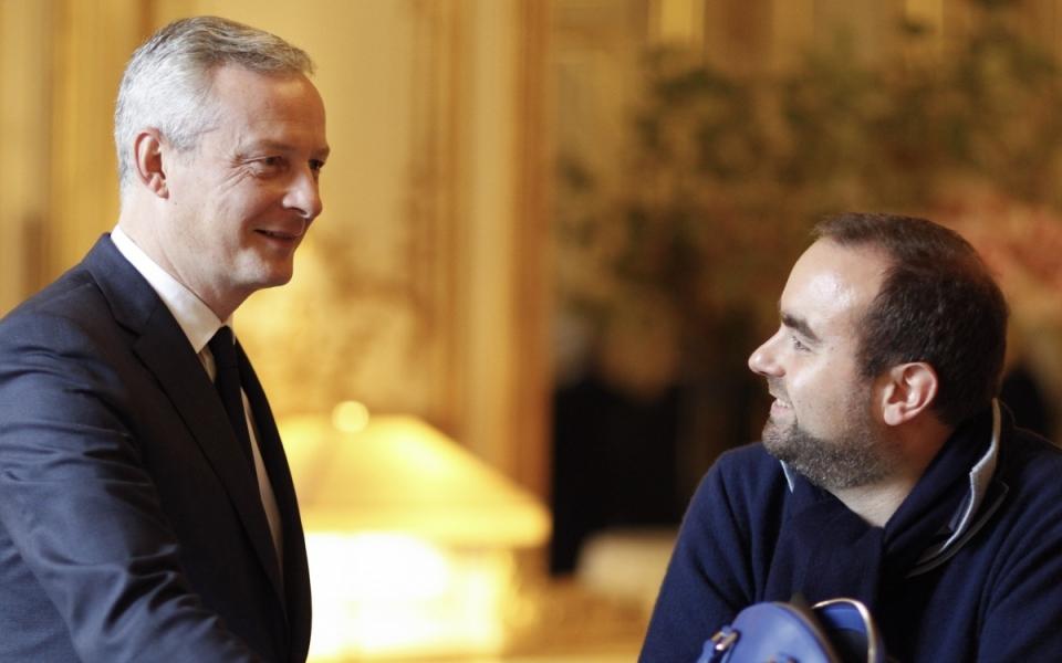 Sébastien Lecornu et Bruno Le Maire