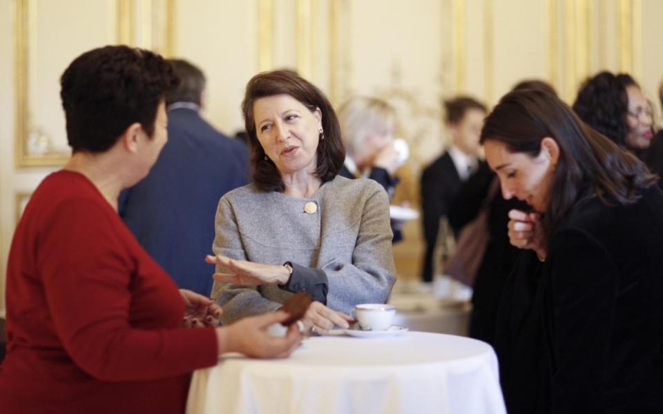 Frédérique Vidal, Agnès Buzyn et Brune Poirson
