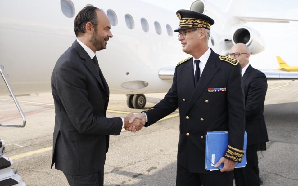Arrivée du Premier ministre à Marseille