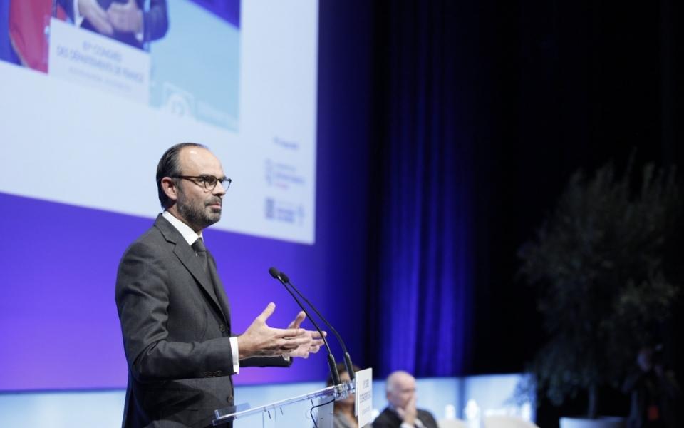 Discours du Premier ministre au Congrès de l'Association des Départements de France